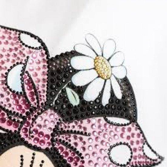 Туника с диамантен принт Minnie Mouse на MONNALISA