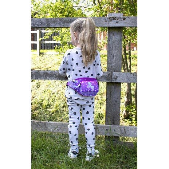 """Детска чанта за през кръста момиче """"Еднорог"""""""