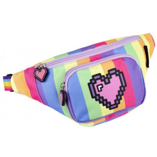 """Детска чанта за през кръста момиче """"Сърце"""""""