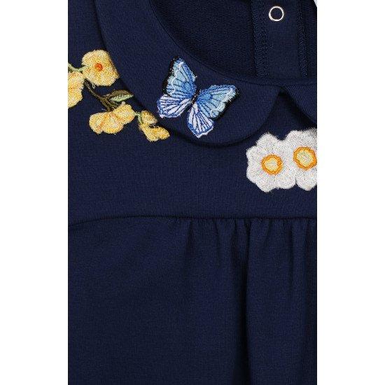 """Детска лятна рокля в синьо """"Пеперуда"""""""