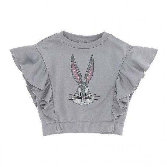 Детски топ в сиво с Bugs Bunny