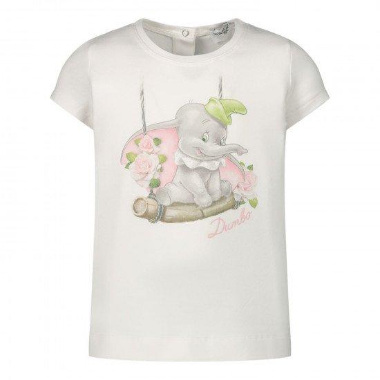"""Бебешка тениска с принт """"Дъмбо"""""""