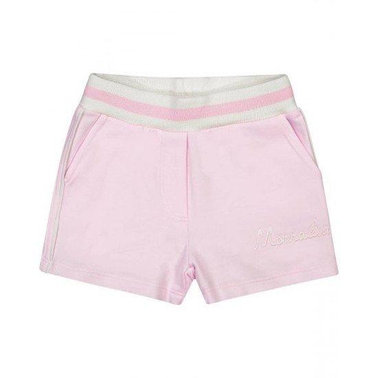 Бебешки къси панталонки в розово