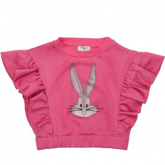 Детски топ в розово с Bugs Bunny