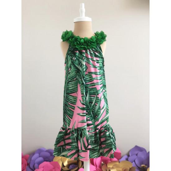 """Детска лятна рокля """"Тропика"""""""