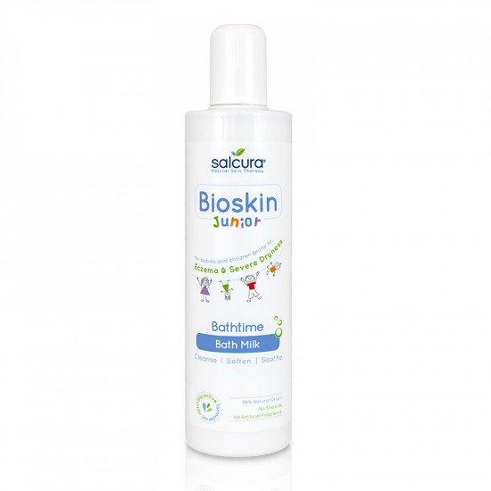 Bioskin Junior Мляко за Баня за Деца и Бебета 300 мл